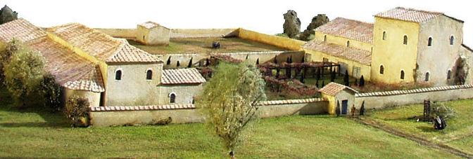 La domus plan interactif coll ge fouace saint vaast 50 thinglink - La villa romaine antique ...