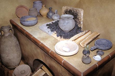 Service arch ologique d partemental des yvelines testez - Cuisine romaine antique ...